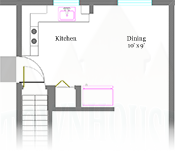 Ellington Townhouse Floor Plans